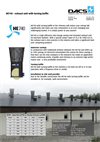 HE740 - Livestock Facility Exhaust Unit with Baffle Valve Brochure