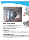 Warm Water Radiator for Heating in Poultry and Pig Houses - Brochure