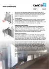 Warm Water Radiator for Heating in Poultry and Pig Houses - Productinformation