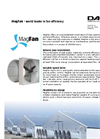 Magfan - Ultra Efficient, Energy Saving Wall Fan - Brochure