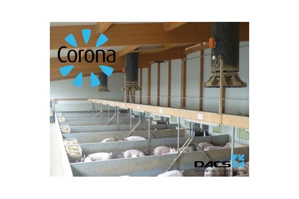 CoronaS - Pig House Air Inlet & Poultry House Air Inlet - Poultry Farm Ventilation System