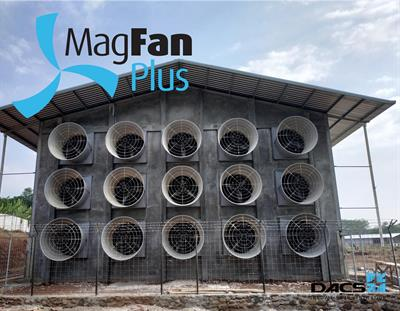 MagFan Plus - attractive wherever high preassure is needed