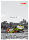 Class - CROP TIGER 30 - Combine Harvester Brochure