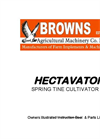Browns - - Hectavator Cultivator Brochure