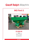 Fertilizer Spreaders Ferti 2- Brochure