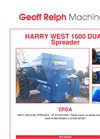 DUAL Spreader 1600- Brochure