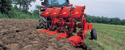 Kuhn - Model Multi-Master 112 - Mounted Reversible Ploughs