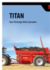 Rear Discharge Muck Spreaders Titan 6, 8 & 9- Brochure