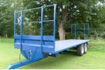 KeithRose - Model Blue 8T - Flat Trailers