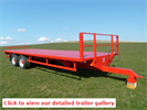 KeithRose - Model Red 10T - Flat Trailers