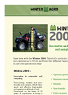 Wintex - Model 2000 - Fully Automatic Soil Sampler Datashet