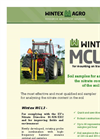 Wintex MCL3 – For Mounting on Tractors Datasheet