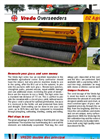 Model Agri Series - Overseeders Brochure