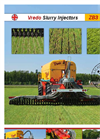 Model ZBFE - Slurry injectors for Farmers Brochure
