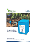 iDUS - Irrigation Zone Valve Controller Manual