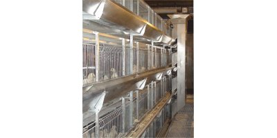 Unifor Rearing Pullet Cage Systems