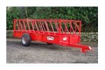 Portequip - Model FT143 14FT X 5FT - Cattle Feed Trailer