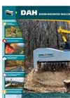 DAH - Forestry Mulchers for Excavators Brochure