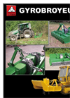 Plaisance - Vertical Axis Mulchers - Brochure