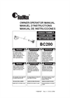 RedMax - Model BC280 - Trimmer Manual