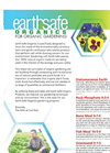 Earth Safe - Organics Fertilizer Brochure