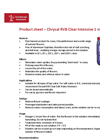 Chrysal - Model RVB - Clear Intensive Stimulates Brochure
