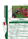 Progressive - Model TD92 - Tri-Deck Finishing Mowers Brochure