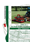 Pro-Flex - Model 120B - 10` Contour Finishing Mower - Brochure