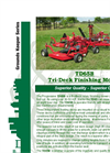 Progressive - Model TD65B - Tri-Deck Finishing Mowers Brochure