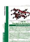 Pro-Max - Model 36 - Mowing System Brochure