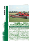 Progressive - Model TDR-22n / TDR-22n - 22` Tri-Deck Roller Finishing Mower Brochure