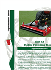 Progressive - Model SDR-65 - Single Deck Roller Mower Brochure