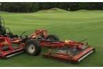 Progressive - Model TDR-12B - Tri Deck Roller Mower