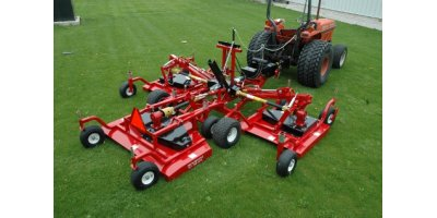 Progressive - Model TD65-2B - Tri-Deck Finishing Mowers