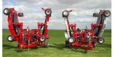 Progressive - Model TD92 - Tri-Deck Finishing Mowers