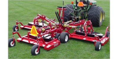 Progressive - Model TD65B - Tri-Deck Finishing Mowers