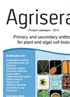 Primary and secondary antibodies for plant and algal cell biology