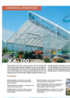 Commercial Greenhouses / High Tunnels - Brochure