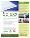 Solexx - Greenhouse Covering System Brochure