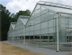 Model Series 7500 - A-Frame Gable Greenhouse