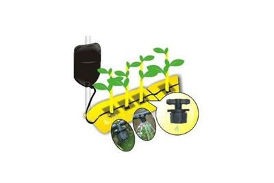 Model EW107 - Drip Irrigation Kit with Hanging Bag. Gravity Drip Bag