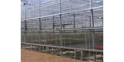 Guillotine Side Vents Natural Greenhouse Ventilation
