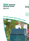 Irrigatia - Model SOL-C12 - Solar Automatic Watering System Brochure