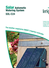 Irrigatia - Model SOL-C24 - Solar Automatic Watering System Brochure