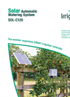Irrigatia - Model SOL-C120 - Solar Automatic Watering System Brochure
