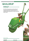 HALDRUP - Model SH-20 - Hand Pushed Seeder - Datasheet