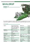 HALDRUP - Model C-65 - Plot Combine - Datasheet