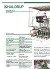 HALDRUP - Model SB-25 - Belt Cone Seeder - Datasheet