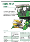 HALDRUP - Model F-55 - Grass Harvester - Datasheet
