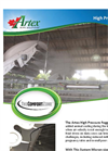 Artex - High Pressure Misting Systems Brochure